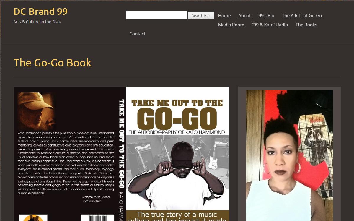 The Go-Go Book - DC Brand 99
